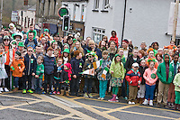 George street Fair Street turning <br /> St Patricks Day Parade route from George Street through Fair Street Peter Street Shop Street and ending some where down along the North Quay