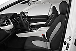 Front seat view of a 2018 Toyota Camry LE Auto 4 Door Sedan front seat car photos