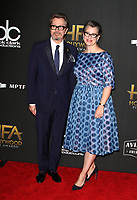 BEVERLY HILLS, CA - NOVEMBER 5: Gary Oldman, Gisele Schmidt, at The 21st Annual Hollywood Film Awards at the The Beverly Hilton Hotel in Beverly Hills, California on November 5, 2017. <br /> CAP/MPI/FS<br /> &copy;FS/MPI/Capital Pictures