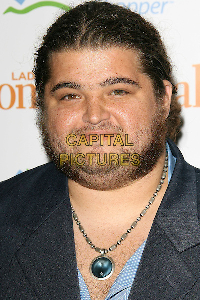 "JORGE GARCIA.Third Annual ""Funny Ladies We Love"" Awards Hosted By Ladies' Home Journal - Arrivals held at the Cabana Club, Hollywood, California.  .February 6th, 2006.Photo: Zach Lipp/AdMedia/Capital Pictures.Ref: ZL/ADM.headshot portrait stubble facial hair double chin necklace chain.www.capitalpictures.com.sales@capitalpictures.com.© Capital Pictures."