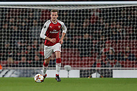 Rob Holding of Arsenal during the UEFA Europa League match between Arsenal and FC BATE Borisov  at the Emirates Stadium, London, England on 7 December 2017. Photo by David Horn.