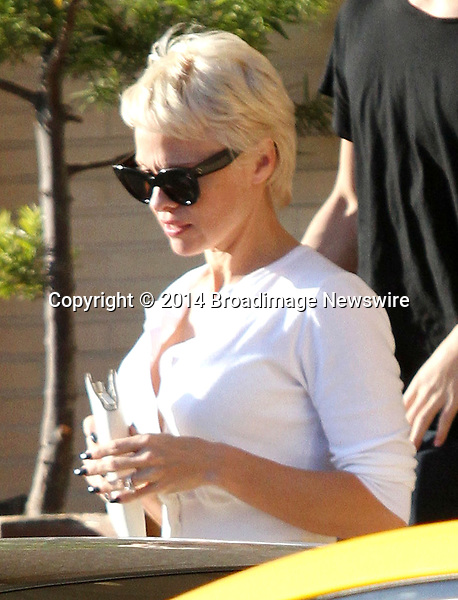 Pictured: Pamela Anderson<br /> Mandatory Credit &copy; Patron/Broadimage<br /> Pamela Anderson leaving Barneys New York<br /> <br /> 2/5/14, Beverly Hills, California, United States of America<br /> <br /> Broadimage Newswire<br /> Los Angeles 1+  (310) 301-1027<br /> New York      1+  (646) 827-9134<br /> sales@broadimage.com<br /> http://www.broadimage.com