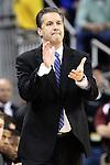 04 Feb 2012: Kentucky Wildcats head coach John Calipari cheers his team  at Colonial Life Arena, Columbia, South Carolina. Kentucky beats South Carolina 86-52.