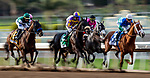 MAR 07: The field races past the post for the first time in the Santa Anita Handicap at Santa Anita Park in Arcadia, California on March 7, 2020. Evers/Eclipse Sportswire/CSM