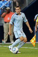 Sporting KC defender Matt Besler in action... Sporting Kansas City defeated Real Salt Lake 2-0 at LIVESTRONG Sporting Park, Kansas City, Kansas.