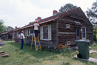 1995 May 01..Assisted Housing..Oakleaf Forest...Oakleaf Modernization.Bungalos before...NEG#.NRHA#..HOUSING:ComGrant  12:2