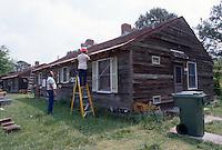 1995 May 01..Assisted Housing..Oakleaf Forest...Oakleaf Modernization.Bungalos before...NEG#.NRHA#..HOUSING:ComGrant  12:2