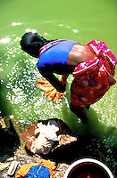 A dobby wallah in India
