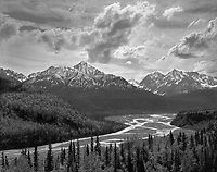 &quot;Matanuska River Viewed from the Glenn Highway&quot; Alaska <br />