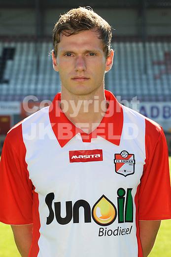 EMMEN - Voetbal, presentatie selectie FC Emmen, seizoen 2013-2014, 19-7-2013 Tim Siekman.
