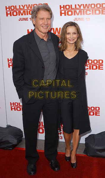 HARRISON FORD, CALISTA FLOCKHART.Hollywood Homicide LA Premiere at Mann Village Theatre, Westwood.www.capitalpictures.com.sales@capitalpictures.com.©Capital Pictures..full length, full-length