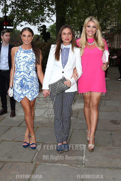 Grace Andrews, Fran Parman, Georgia Kousoulou at the Superdrug 50th birthday party held at One Marylebone, London. 23/04/2014 Picture by: Henry Harris / Featureflash