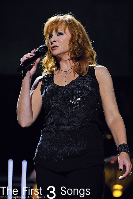 Reba McEntire performs at LP Field during the 2011 CMA Music Festival on June 10, 2011 in Nashville, Tennessee.