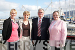 ATTENDING: Attending the opening of the Information Centre, at the Harbour Masters office on Friday in  Fenit Pier, L-r: Michelle Burke, Collette O'Sullivan, Dermot Crowley and Nora Landers..........