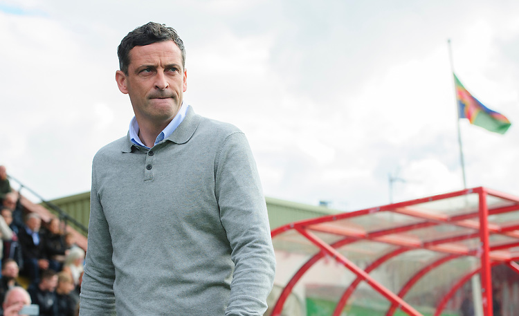 Sunderland manager Jack Ross<br /> <br /> Photographer Chris Vaughan/CameraSport<br /> <br /> The EFL Sky Bet League One - Lincoln City v Sunderland - Saturday 5th October 2019 - Sincil Bank - Lincoln<br /> <br /> World Copyright © 2019 CameraSport. All rights reserved. 43 Linden Ave. Countesthorpe. Leicester. England. LE8 5PG - Tel: +44 (0) 116 277 4147 - admin@camerasport.com - www.camerasport.com