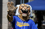 Willy waves to the crowd at a student BBQ and club fair at Western Nevada College in Carson City, Nev., on Thursday, Sept. 1, 2016. <br />Photo by Cathleen Allison