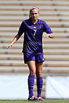 23 August 2015: Weber State's Madison Garlock. The Duke University Blue Devils played the Weber State University Wildcats at Fetzer Field in Chapel Hill, NC in a 2015 NCAA Division I Women's Soccer game. Duke won the game 4-0.