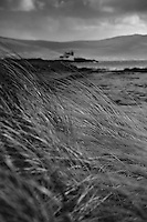 Samphire Lighthouse, taken from Barrow beach on Fenit Island, Fenit, Co. Kerry