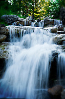 Grand Tetons Waterfall photographed by Gina Genis