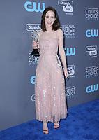11 January 2018 - Santa Monica, California - Rachel Brosnahan. 23rd Annual Critics' Choice Awards held at Barker Hangar. <br /> CAP/ADM/BT<br /> &copy;BT/ADM/Capital Pictures