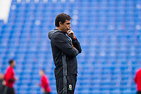 Team manager Chris Coleman during Wales national team training ahead of the World Cup Qualification match against Republic of Ireland at Cardiff City Stadium, Cardiff, Wales on 8 October 2017. Photo by Mark  Hawkins.