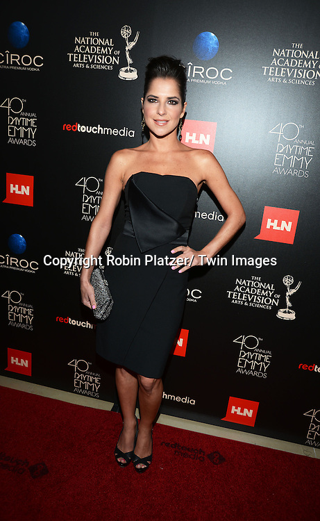 Kelly Monaco at The 40th Annual Daytime Emmy Awards on<br />  June 16, 2013 at the Beverly Hilton Hotel in Beverly Hills, California.