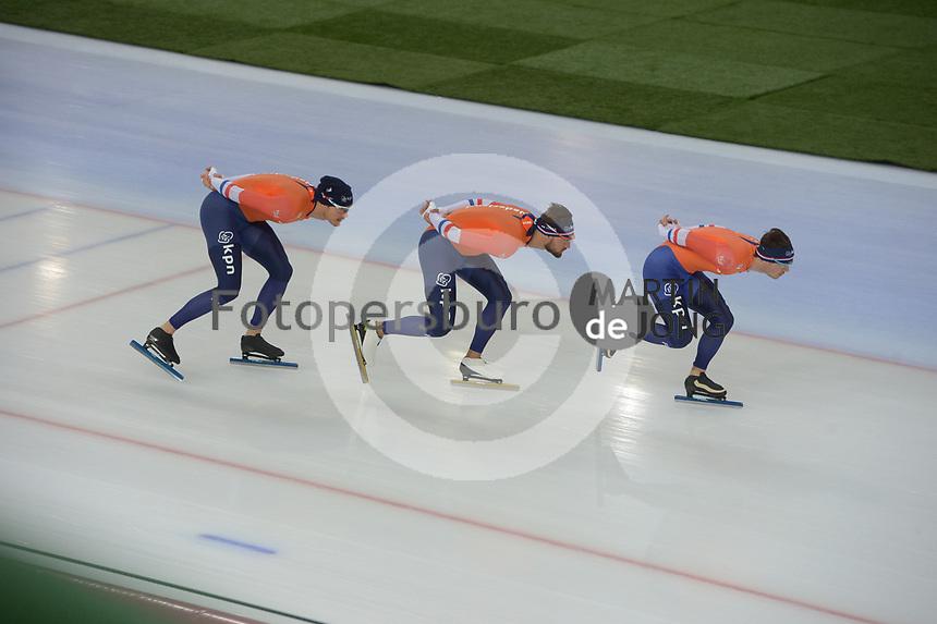 SPEED SKATING: HAMAR: Viking Skipet, 01-02-2019, ISU World Cup Speed Skating, Training, ©photo Martin de Jong