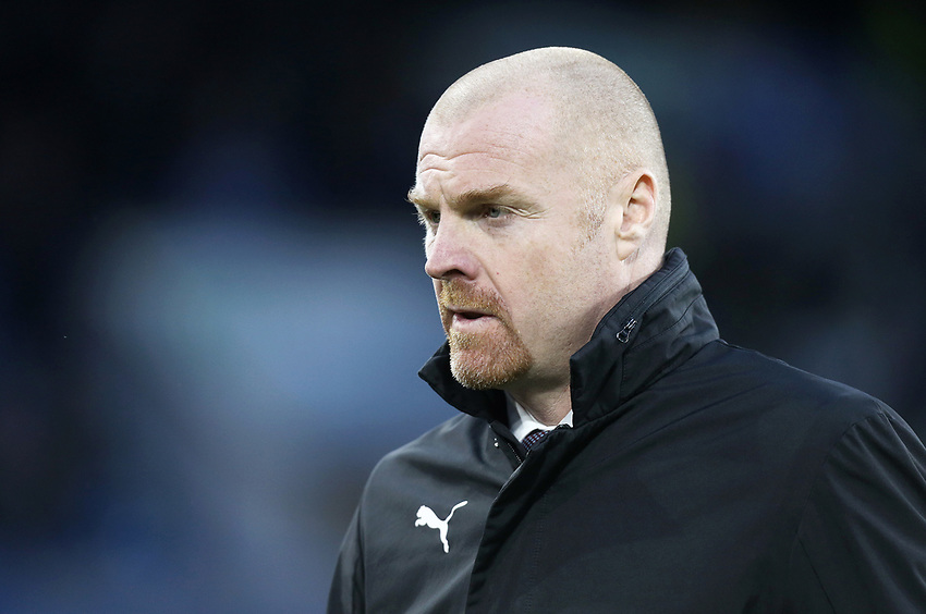 Burnley manager Sean Dyche looks relieved<br /> <br /> Photographer Rich Linley/CameraSport<br /> <br /> The Premier League - Burnley v Brighton and Hove Albion - Saturday 8th December 2018 - Turf Moor - Burnley<br /> <br /> World Copyright © 2018 CameraSport. All rights reserved. 43 Linden Ave. Countesthorpe. Leicester. England. LE8 5PG - Tel: +44 (0) 116 277 4147 - admin@camerasport.com - www.camerasport.com