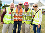 Roy Bowers, Alan Howard, Tommy McDonald and Yvonne Howard at the Mosney Road residents annual street party. Photo:Colin Bell/pressphotos.ie