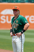 Greensboro Grasshoppers pitcher Taylor Braley (29) before a game against the Lakewood BlueClaws on June 10, 2018 at First National Bank Field in Greensboro, North Carolina.  Lakewood defeated Greensboro 2-0.  (Mike Janes/Four Seam Images)