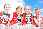 Competing at the Denny County Community Games in An Riocht Castleisland on Sunday was l-r: Molly Purtinn, Cora O'Mahony, Clodagh Neeson and Aidan Long Ballybunion .