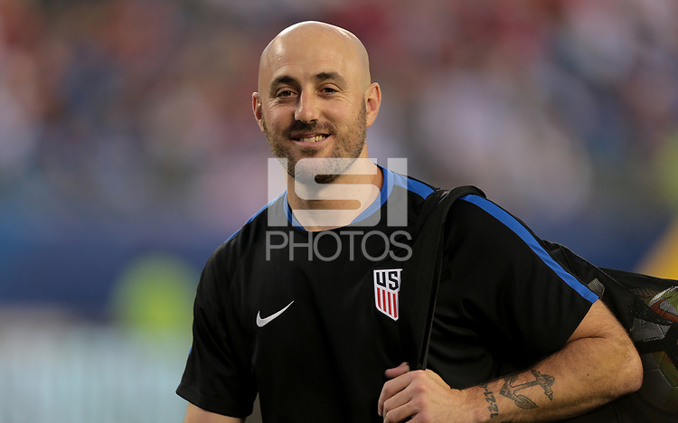Philadelphia, PA - Wednesday July 19, 2017: Jesse Bignami during a 2017 Gold Cup match between the men's national teams of the United States (USA) and El Salvador (SLV) at Lincoln Financial Field.