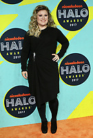 www.acepixs.com<br /> <br /> November 4 2017, New York City<br /> <br /> Kelly Clarkson arriving at the Nickelodeon Halo Awards 2017 at Pier 36 on November 4, 2017 in New York City<br /> <br /> By Line: Nancy Rivera/ACE Pictures<br /> <br /> <br /> ACE Pictures Inc<br /> Tel: 6467670430<br /> Email: info@acepixs.com<br /> www.acepixs.com