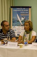 Rueda de prensa y presentación de la regata. .LXVI CAMPEONATO DE ESPAÑA DE PATÍN A VELA, Club de Vela la Dehesa del 26 al 29 de Agosto de 2009