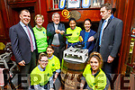 At the Palliative Care Pancake fundraiser on Tuesday in the Grand Hotel.<br /> Back l to r:  , Dick Boyle, Maura O'Sullivan, Ger Power, Madelyn Cavrbra, Eileen Egan (Grand Hotel) and David Moran.<br /> Front l to r: Caroline Delaney, Natalie Ustanowska and Darlene Lacey.