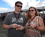 Scott and Aubrey Little during the Beer and Chili Festival at the Grand Sierra Resort in Reno, Nevada on Saturday, Oct. 21, 2017.