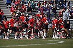 2013 March 02: Maryland Terrapins during a game against the Duke Blue Devils at Koskinen Stadium in Durham, NC.  Maryland won 16-7.