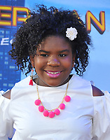 www.acepixs.com<br /> <br /> June 28 2017, LA<br /> <br /> Trinitee Stokes arriving at the premiere of Columbia Pictures' 'Spider-Man: Homecoming' at the TCL Chinese Theatre on June 28, 2017 in Hollywood, California.<br /> <br /> By Line: Peter West/ACE Pictures<br /> <br /> <br /> ACE Pictures Inc<br /> Tel: 6467670430<br /> Email: info@acepixs.com<br /> www.acepixs.com