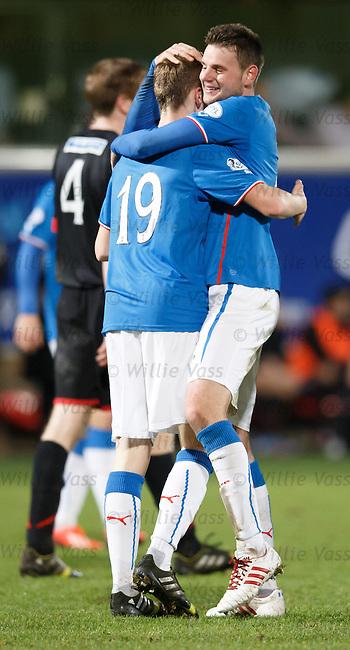 Seb Faure and Robbie Crawford