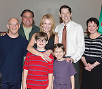 Eddie Korbich, Dan Lauria, Erin Dilly, Johnny Rabe, John Bolton, Zac Ballard and Caroline O'Connor  attends the Meet & Greet for 'A Christmas Story, The Musical' at the New 42nd Street Studios on 10/22/2012 in New York City.