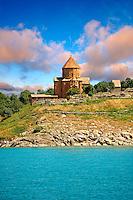 10th century Armenian Orthodox Cathedral of the Holy Cross on Akdamar Island, Lake Van Turkey 47