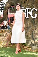 Rebecca Hall at the UK premiere of 'The BFG' at the Odeon Leicester Square, London.<br /> July 17, 2016  London, UK<br /> Picture: Steve Vas / Featureflash