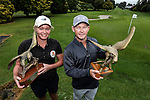 Brittney Dryland and Kieran Muir win the Barfoot and Thompson Charles Tour, Akarana Open, Akarana Golf Club, Auckland, Sunday 17  April 2016. Photo: Simon Watts/www.bwmedia.co.nz