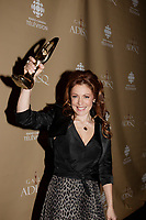 Montreal (Qc) CANADA - October 28 2007-<br /> <br /> Isabelle Boulay , winner female singer and show of the year<br />  (Interpr&Euml;te f&Egrave;minine de l'ann&Egrave;e et Spectacle de l'ann&Egrave;e - Interpr&Euml;te)<br /> 2007 ADISQ Gala held at Saint-Denis Theater in Montreal<br /> <br />  Photo (c) 2007 Pierre Roussel- Images Distribution