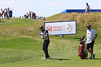 Paul Waring (ENG) on the 3rd during Round 1 of the HNA Open De France at Le Golf National in Saint-Quentin-En-Yvelines, Paris, France on Thursday 28th June 2018.<br /> Picture:  Thos Caffrey | Golffile