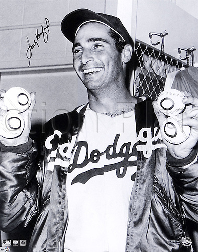Unknown Date. Dodgers baseball player Sandy Koufax.