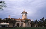 Donald Trump's Mar-a-Lago, the estate and National Historic Landmark on December 20, 2003 in Palm Beach, Florida.