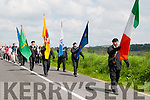 Gortagleanna Commemoration: The flag bearers leading the parade at the annual Goragleanna commemoration Sunday last.