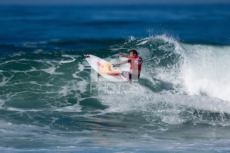 San Clemente, Calif. - September 16, 2014: The 2014 Hurley Pro at Trestles #8 stop of the Association of Surfing Professionals (ASP) World Championship Tour WCT.