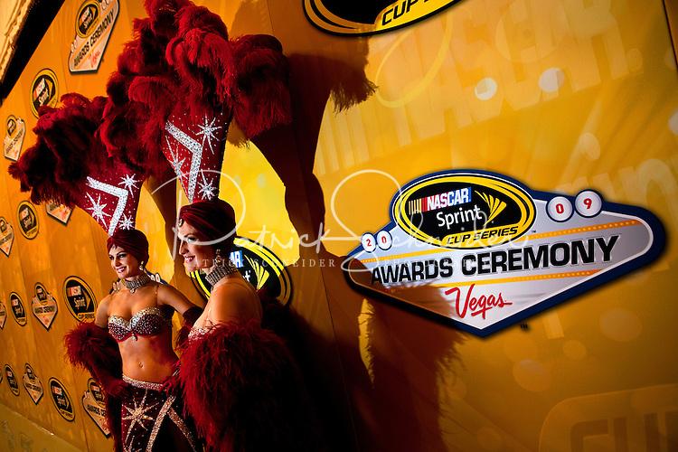 12/02/09: NASCAR Sprint Cup Series Champion Jimmie Johnson  during Day 3 of the NASCAR Sprint Cup Series Champions Week on December 4, 2009 in Las Vegas, Nevada.